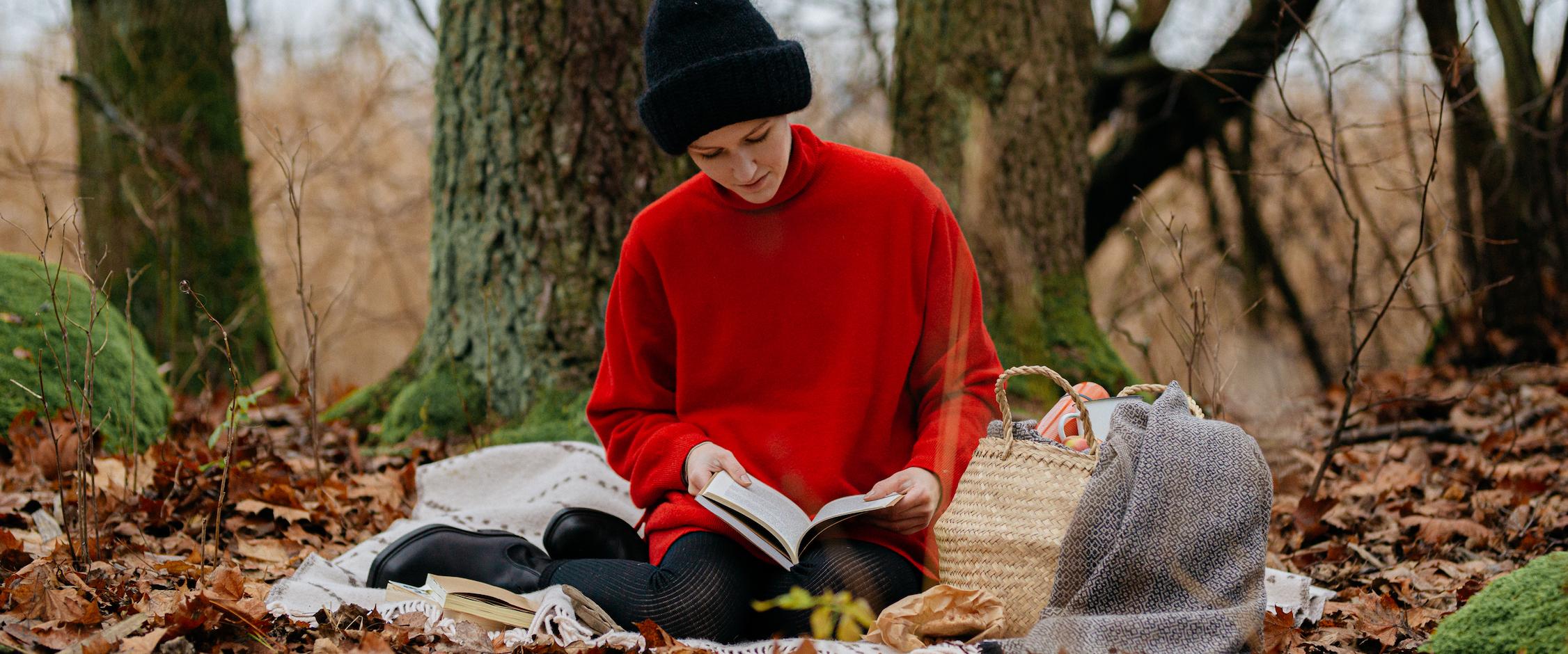 AUTUMN LOOK, mixed style of wool & linenのイメージ画像